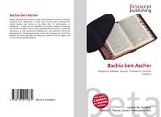 Copertina di Bachia ben Ascher