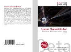 Portada del libro de Yvonne Choquet-Bruhat