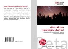 Buchcover von Albert Richter (Forstwissenschaftler)