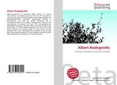 Capa do livro de Albert Rodegerdts