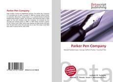 Parker Pen Company的封面