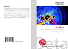Buchcover von Vic Firth