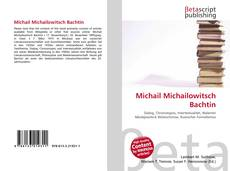 Bookcover of Michail Michailowitsch Bachtin