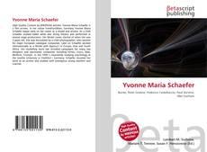 Couverture de Yvonne Maria Schaefer