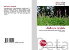 Bookcover of Aechmea candida