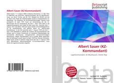 Bookcover of Albert Sauer (KZ-Kommandant)