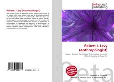 Capa do livro de Robert I. Levy (Anthropologist)