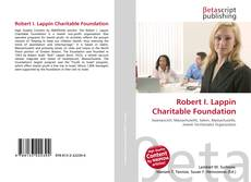 Capa do livro de Robert I. Lappin Charitable Foundation