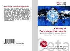 Bookcover of Calculus of Communicating Systems