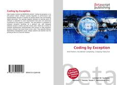Couverture de Coding by Exception
