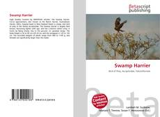 Bookcover of Swamp Harrier