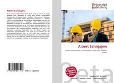 Capa do livro de Albert Schirjajew