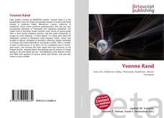 Yvonne Rand kitap kapağı