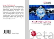Bookcover of Constrained Clustering