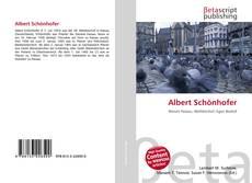 Buchcover von Albert Schönhofer