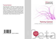 Tommy Cannon的封面
