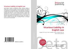 Bookcover of Vicarious Liability in English Law