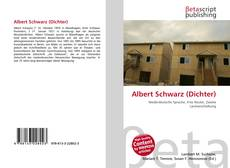 Buchcover von Albert Schwarz (Dichter)