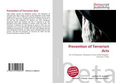 Bookcover of Prevention of Terrorism Acts