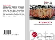 Bookcover of Schweinebacke