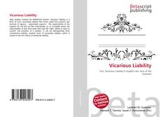 Bookcover of Vicarious Liability