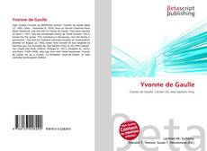 Bookcover of Yvonne de Gaulle