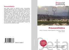 Bookcover of PreussenElektra
