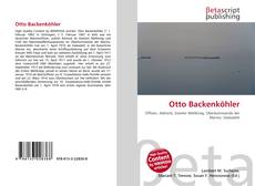 Otto Backenköhler的封面