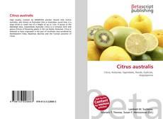 Bookcover of Citrus australis