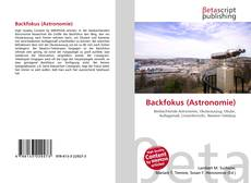 Bookcover of Backfokus (Astronomie)