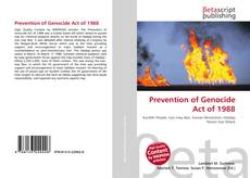 Обложка Prevention of Genocide Act of 1988