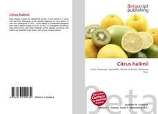 Bookcover of Citrus halimii