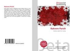 Buchcover von Rakvere Parish