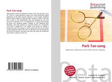 Bookcover of Park Tae-sang