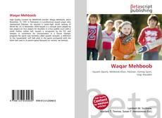 Bookcover of Waqar Mehboob