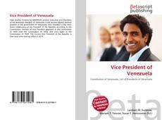 Bookcover of Vice President of Venezuela