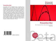 Bookcover of Preventive War