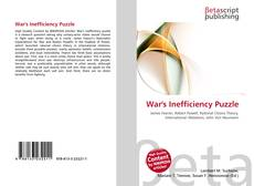 Buchcover von War's Inefficiency Puzzle