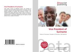 Bookcover of Vice President of Suriname