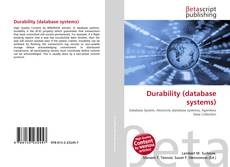 Bookcover of Durability (database systems)