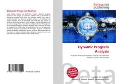 Copertina di Dynamic Program Analysis