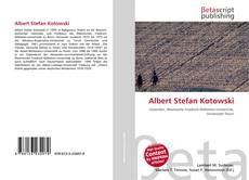Copertina di Albert Stefan Kotowski
