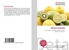 Bookcover of Citrus limetta