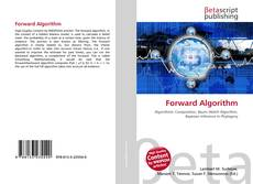 Bookcover of Forward Algorithm