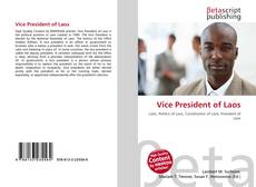 Bookcover of Vice President of Laos