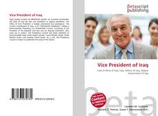 Bookcover of Vice President of Iraq
