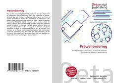 Bookcover of Prewellordering