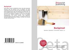 Bookcover of Backpinsel