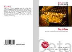 Bookcover of Backofen