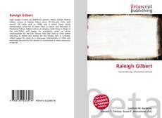 Capa do livro de Raleigh Gilbert